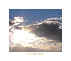 The Sun (Stella VM) Tags: blue sky sun white clouds sofia bulgaria shining vitosha небе облаци българия софия витоша синьо бяло сияние
