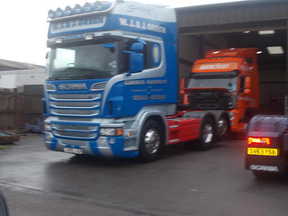 DSCN4715. JG55 JJG Scania R560 TAG Axle. W J & J Green Garmouth