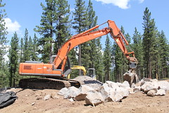 IMG_6479 (RyanP77) Tags: cat truck site construction crane machine dump equipment caterpillar machinery dozer loader bulldozer jobsite hitachi digger excavator grader