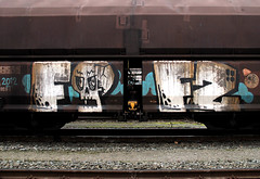 graffiti on cargotrains (wojofoto) Tags: amsterdam train trein traingraffiti treingraffiti freighttraingraffiti freighttrain graffiti wojofoto fofs cargotrain fofz wolfgangjosten
