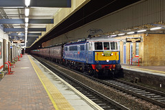 86259 'Les Ross' Warrington Bank Quay 1st Feb 2014 (John Eyres) Tags: les ross warrington carlisle euston galatea cumbrian 45699 86259