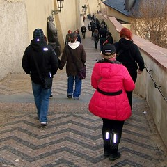 Other stairs down from Prague Castle (Will S.) Tags: prague praha czechrepublic mypics ceskarepublika praguecastle českárepublika