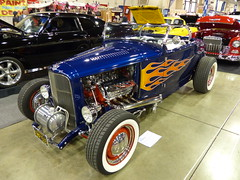 1930 Ford (bballchico) Tags: ford flames hotrod 1930 roadster kenwoodruff grandnationalroadstershow2014