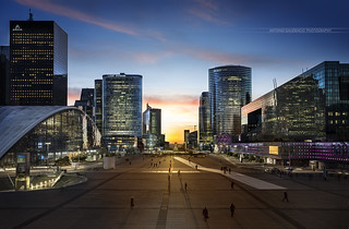 Quartier La Défense Paris - Antonio GAUDENCIO