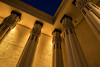 Rosicrucian Columns (atenpo) Tags: california ca museum tomb egypt sanjose replica egyptian rosicrucian amorc ancientmysticalorderrosaecrucis