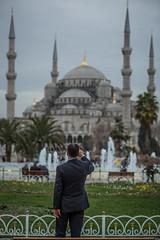 Turkey 2014 (WoofSnap) Tags: travel tourism turkey muslim istanbul mosque fisheye bluemosque