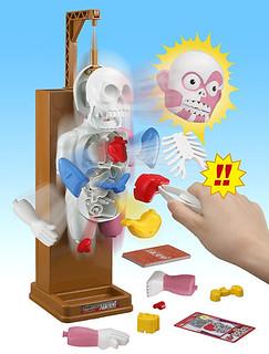 恐怖喔~ 《放學後的怪談系列》第一彈! 驚驚解剖人體模型!