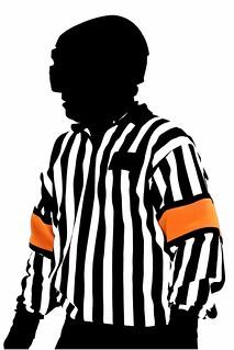 Referee Arthur Kitano silhouette