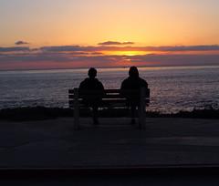 Sitting... (annpar) Tags: ocean california sunset sitting lajolla