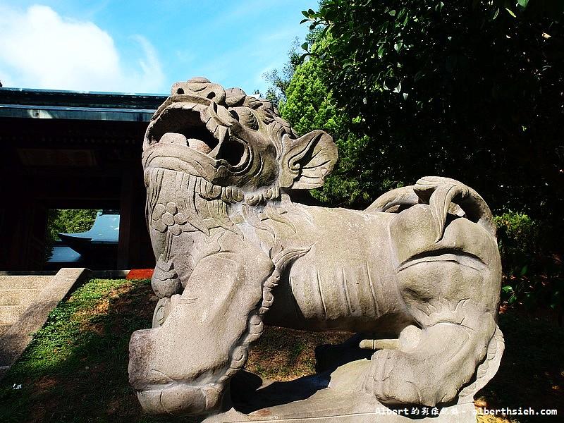 桃園市.虎頭山忠烈祠:高麗犬