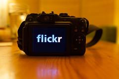 Nine years (3/3) (tompagenet) Tags: camera flickr display nine 9 flickrversary flickrlogo canonpowershotg12