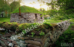 WM Dean Mclellan 6, Black House, freestanding wall, structure, building, dry laid stone construction, copyright 2014