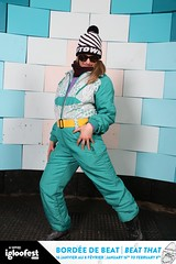 14igl1794 (onesieworld) Tags: girls party ski silly fashion one outfit shiny neon retro suit 80s piece nylon catsuit snowsuit onesie