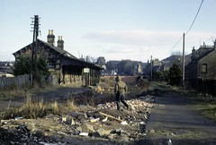 Lochee Station (Dundee City Archives) Tags: lochee locheestation dundee dundeenewtyle derelict locheeburnsclub