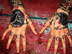 star wars hand tattoo design (tattoos_addict) Tags: tattoo star design hand wars startattoo