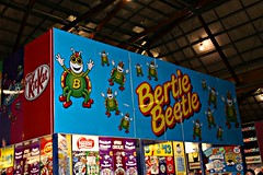 2014 Sydney Royal Easter Show: Showbag Pavilion #3 (dominotic) Tags: food rural candy sydney australia lolly nsw sweets newsouthwales produce agriculture ras amusements farmanimals sideshow homebush theshow artsandcrafts 2014 eastershow sydneyroyaleastershow lifestock agriculturalshow sideshowalley citymeetscountry bertiebeetle producedisplay showbagpavilion