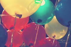 balloons (Frulein Maximiliane) Tags: colors beauty vintage balloons fun photography colours balloon style fauxvintage