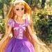 Rapunzel's shiny hair