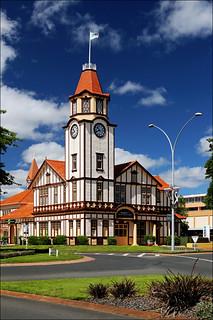 Rotorua Stadtzentrum