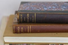 Education (Camera Obscura 1975) Tags: books antiquebooks educaction