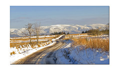 SNOWY ROAD (feefers3) Tags: winter mountains hills moors remote snowcovered snowyday snowyroad loneyroad