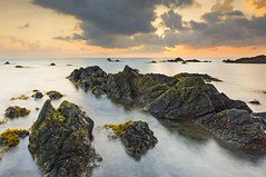 Sunrise Kemasik (KM SNIPER-X) Tags: sunset seascape nature rock sunrise landscape amazing long exposure slow minolta sony laut shutter hdr lumut pantai kemasik terengganu carlzeiss a57 leefilter kmsniperx