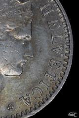 Helvetica (Fippo Gomes) Tags: canon coins helvetica ringflash moedas closeupfilter eosm efs60mmf28macrousm