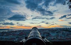 Shoot (Vctor Gmez Kapranos) Tags: longexposure nightphotography sunset portugal nikon cityscape lisboa lisbon slowshutter castel sanjorge longexposureshot nikonphotography nikond3100