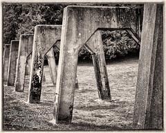 Arches On Parade (zen3d ) Tags: seattle historical derelict gasworkspark urbex