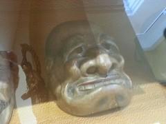 masque du thtre Kyogen. (christine.petitjean) Tags: toulouse thtre japon edo kyogen masque dmon muselabit buaku