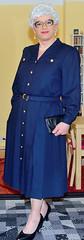 Ingrid022238 (ingrid_bach61) Tags: dress skirt mature button through pleated kleid faltenrock durchgeknpft