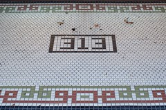 313 (dangr.dave) Tags: nocona tx texas downtown historic architecture montaguecounty 313 tile floortile