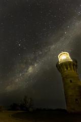 1-8966 (muvro) Tags: lighthouse sydney barrenjoey milkyway northernbeaches