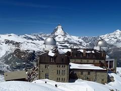 Kulmhotel Gornergrat (lvalgaerts) Tags: snow mountains alps clouds landscape schweiz switzerland spring rosa glacier gornergrat zermatt matterhorn monte gletscher dufour cervino gorner kulmhotel