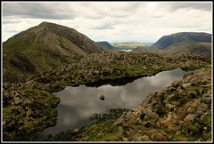 Haystacks. (A tramp in the hills) Tags: lakedistrict haystacks