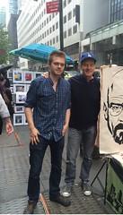 me and Bryan Cranston (nikita_grabovskiy) Tags: walter white movie star bad bryan breaking cranston