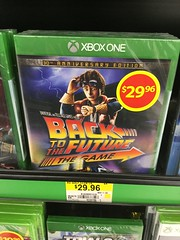 Back to the Future: The Game (splinky9000) Tags: ontario game one back video anniversary xbox games kingston future to universal 30th edition marty wal mart mcfly the telltale