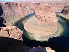 Horseshoe Bend, near Page, Arizona (yellowroseoftexasmindy) Tags: arizona desert wildlife parks rivers coloradoriver horseshoebend