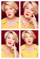 Mirka (Barbara Duchalska) Tags: portrait woman beauty smile make up female portraits studio mom model women day mother makeup mama mothers jewellery mum mature wrinkles dzień femininity femine matki wrinles