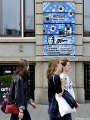 Amsterdam  Street Art : HUGO KAAGMAN (Akbar Sim) Tags: hugokaagman amsterdam mokum holland nederland netherlands streetart stencil stencilart akbarsim akbarsimonse