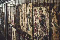 Vintage Posters (3rd-Rate Photography) Tags: travel japan canon vintage 50mm tokyo dof depthoffield explore posters 5dmarkiii earlware 3rdratephotography