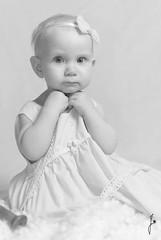 Cute (jannaheli) Tags: bw baby cute girl suomi finland blackwhite helsinki babygirl littleprincess oneyearold mv homestudio vauva tytt sp strobist kotistudio mustavalkonen 1vuotias valaisu pikkuprinsessa tyttvauva nikond7200 ensikerrallaonnistunparemmin