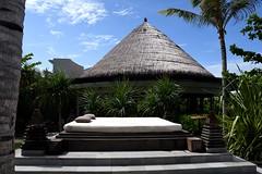Nusa Dua, Indonesia (Nam__b) Tags: blue sky bali nature architecture indonesia relax outdoor hut
