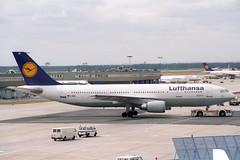 D-AIAK Airbus A.300B4-603 Lufthansa (pslg05896) Tags: fra eddf frankfurt rheinmain daiak airbus a300 lufthansa