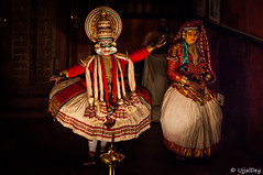 Kathakali  ~ EXPLORED #496 (12-Jun-2016) (ujjal dey) Tags: art dance colours indian traditional performance makeup kerala classical own kathakali 2016 godsowncountry ujjal ujjaldey keechak