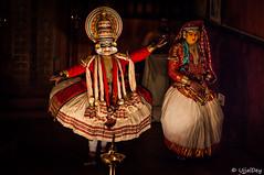 Kathakali (ujjal dey) Tags: art dance colours indian traditional performance makeup kerala classical own kathakali 2016 godsowncountry ujjal ujjaldey keechak
