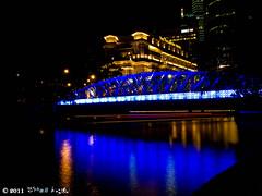 night_10 (Squall EC) Tags: river hotel bay flyer singapore esplanade mbs marinabay raffleshotel singaporeflyer marinabaysands