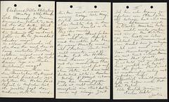 1917 June 25 Julia to Fran (Max Kade Institute for German-American Studies) Tags: family handwriting familie genealogy script handwritten cursive sternberger kurrent