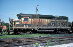 GM&O GP30 524 (Chuck Zeiler) Tags: locomotive gmo chz 524 emd railraod gp30