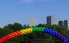 Happy PrideFest (Colorado Sands) Tags: usa america balloons festive us colorado denver parade celebration lgbt highrise symbols symbolic 2016 pridefest cheesmanpark gaycommunity happypride sandraleidholdt denverpridefest pridefest2016